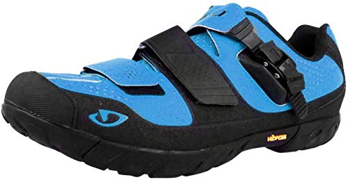 Giro Terraduro MTB Shoes Blue Jewel/Black 40