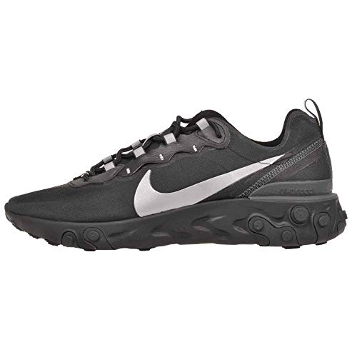 Nike React Element 55 SE Mens Running Trainers BV1507 Sneakers Shoes (UK 9 US 10 EU 44, Black Anthracite 001)