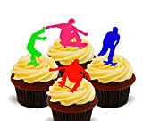 Made4You – Decoración comestible para cupcakes – oblea para decoración de tartas (24)