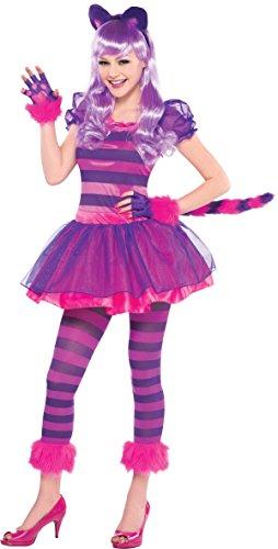 Amscan International - Disfraz de gato para niñas, 10-12 años (999448)