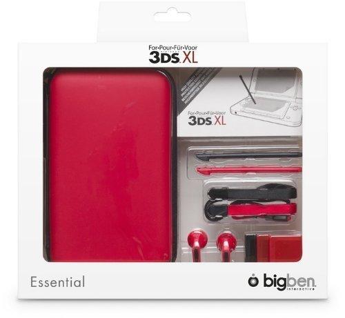 """Nintendo 3DS XL - Zubehör-Set \""""Essential XL\"""" -rot"""