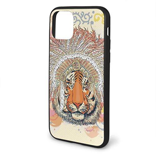Acero inoxidable anillo acero tiger Design joyas animal fell fell Safari África regalo