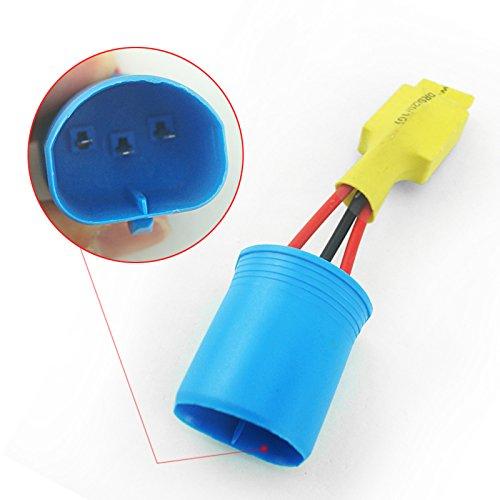 Feeldo Auto 9004 9007 HID pas d'erreur avertissement canceller anti-coupures fuite module de charge résistance non vacillant