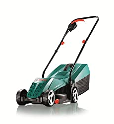 The Rotak 32 lawnmower is ideal for small and mid-sized gardens, height of cut 20 – 60 mm Thanks to its grass comb, the Rotak 32 cuts effortlessly along walls, flower beds and lawn edges Weighing just 6.8 kg, it is easy to steer around obstacles and ...
