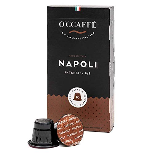 O'CCAFFÈ – Napoli | capsule compatibili Nespresso | 200 pezzi |...