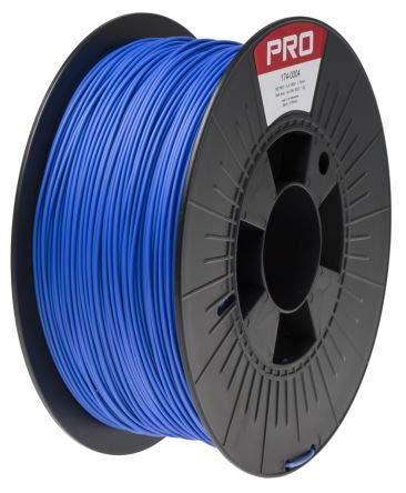 RS PRO 1.75mm Blue PLA 3D Printer Filament, 1kg