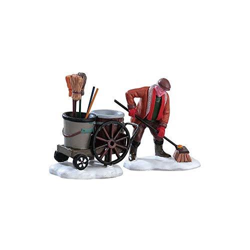 Lemax - Street Sweeper, Set Of 2