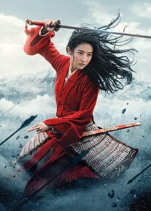 Mulan (2020) – U.S Movie Wall Poster Print - A4 Size Plakat Größe Disney