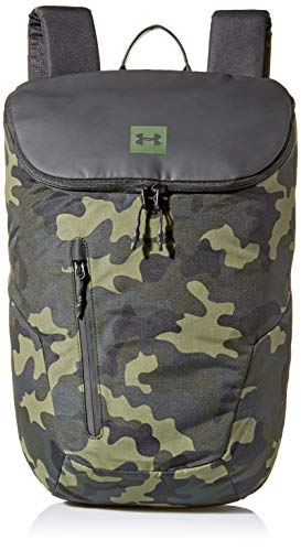 Under Armour Unisex-Erwachsene Lifestyle Backpack Rucksack, Black (001)/Artillery Green, One Size Fits All