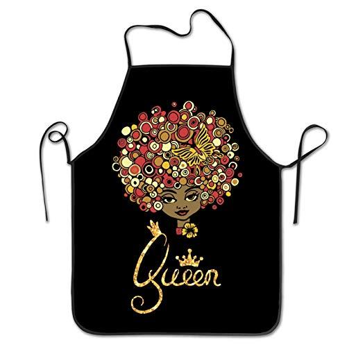 Black Girl Magic Apron Home Kitchen Waterproof Cooking Baking Gardening Suitable For Women Men