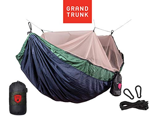 Grand Trunk Skeeter Beeter Pro Mosquito Hammock: Portable Bug Prevention Hammock with Carabiners and...