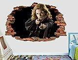 BAOWANG Wandtattoo Harry Potter Hermine Wandtattoo