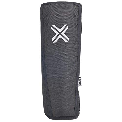 Fuse Unisex– Erwachsene Alpha Shinguard Schienbeinschutz, Black/White, L