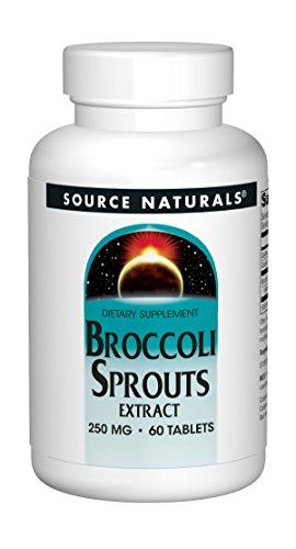 Source Naturals Brokkolisprossenextrakt - 60 vegane Tabletten - glutenfrei - sojafrei