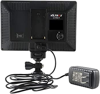 Viltrox L116T On-Camera Bi-Color LED Light with LCD Display