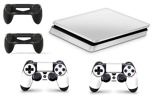 giZmoZ n gadgetZ GNG PS4 Slim Konsolen-Gehäuseaufkleber, Motiv: Weib, inklusive 2er-Set mit Aufklebern für Controller