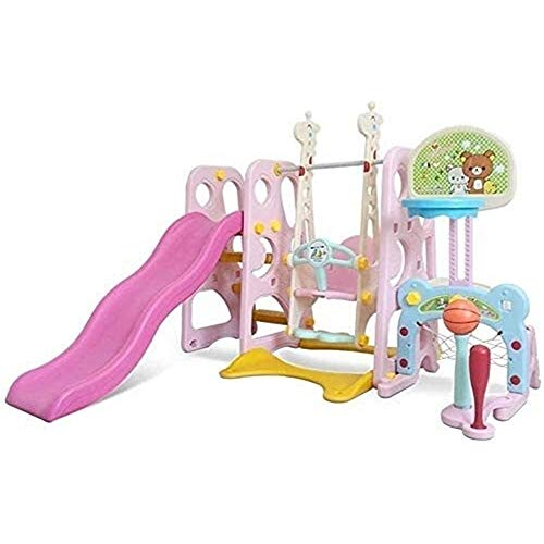 Great Price! Toys Games Freestanding Slides Toddler Climber and Swing Set, Climber Sliding Playset P...