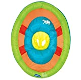 SwimWays 11649 Baby Spring Float Activity Center with Sun Canopy, Green Fish