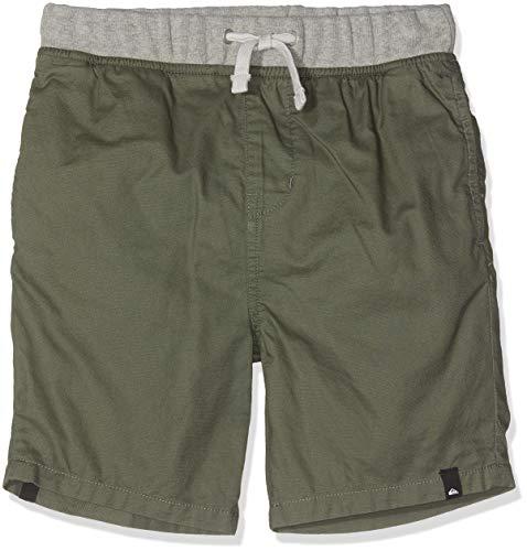Quiksilver Jungen Seaside Coda Walk Shorts, Thyme, L/14