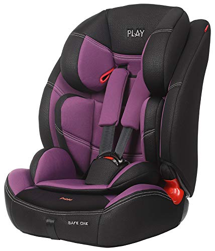 PLAY Safe One 30188 309 - Silla De Coche, Grupo 1/2/3, Violeta