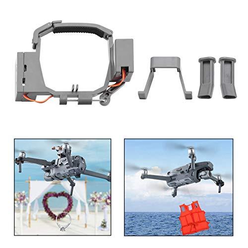 iEago RC Transport Double Release Thrower Lufttropfsystem des Geräts Fischköder freigegeben, Heiratsantrag Drohnen Liefergerät für DJI Mavic PRO Drone Drop Release Zubehör