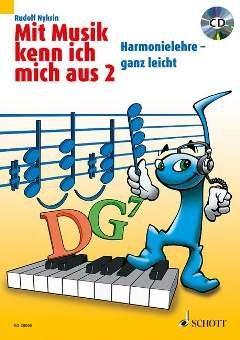 MIT MUSIK KENN ICH MICH AUS 2 - arrangiert für Buch - mit CD [Noten / Sheetmusic] Komponist: NYKRIN RUDOLF