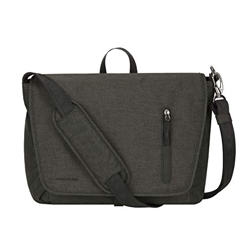 Travelon: Urban - Anti-Theft Messenger Bag - Slate