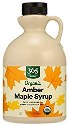 365 Everyday Value, Organic Pure 100% Grade A Maple Syrup, Amber Color Rich Taste, 32 Ounce (Packagi