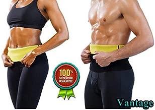 Vantage Hot Shaper Slim Belt Non-Tearable Tummy Trimmer for Men & Women (Size M, L, XL, XXL, 3XL & 4XL)
