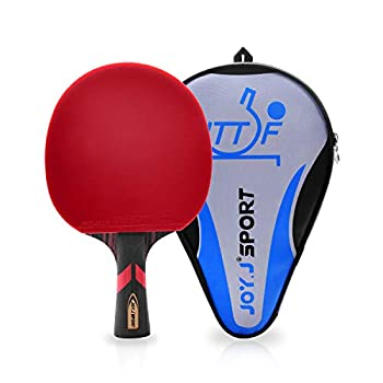 Joy.J Sports Professional 9-Plywood Table Tennis Paddle