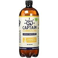 Captain Kombucha Pineapple Peach Splash, Té de burbuja - 1000 ml.