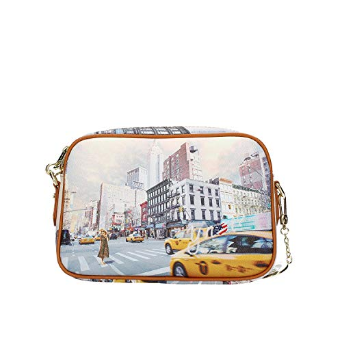 YNOT YES-310S0 TRACOLLA Donna STAMPA NEW YORK TU