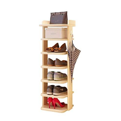 Diaod Sencillo Almacenamiento de Calzado gabinete, Esquina casero Zapatero Que Ahorra Espacio de Zapatos Zapatero compartida Rack Multicapa