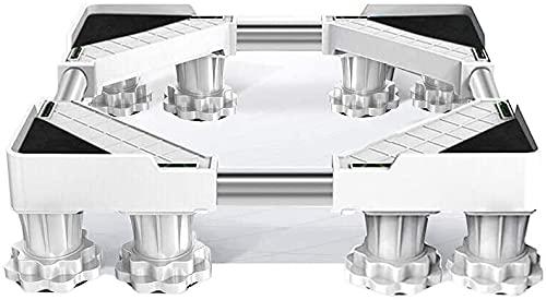 Ghongrm Soporte de la base de la base de la planta exterior grande del soporte del soporte del soporte del soporte de la base del soporte de la base universal del soporte Retactable 50-75cm Bandejas d