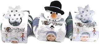 DMC Top This! Yarn Hat Kits, 3-Pack (Snowflake/Snowman/Snowflake)