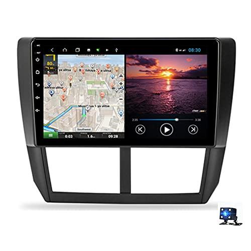 Android 10.0 Car Stereo Sat Nav Radio Reproductor de video multimedia con pantalla táctil para Subaru Forester 3 SH 2007-2012 Soporte Bluetooth USB WIFI 4G GPS M(Size:cuatro nucleos,Color:WiFi 2G+32G)