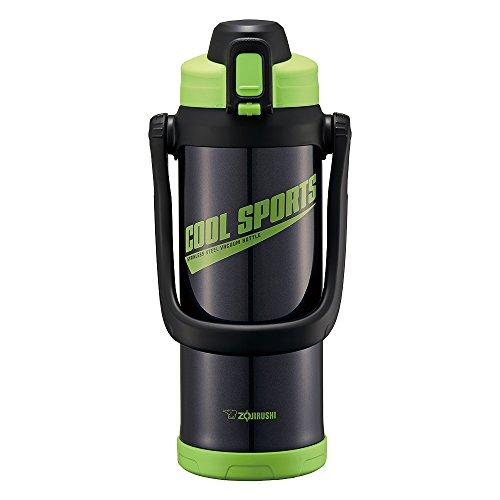 象印 (ZOJIRUSHI) 水筒 直飲み スポーツタイプ ステンレスクールボトル 2.0L グリーンブラック SD-BC20-BG