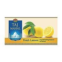 Taj Mahal Fresh Lemon Tea Bags, 25 Pieces