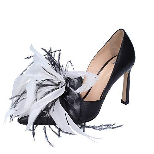 ROBERTO BOTTICELLI Zapatos de salón Mujer Cuero Negro 37 EU