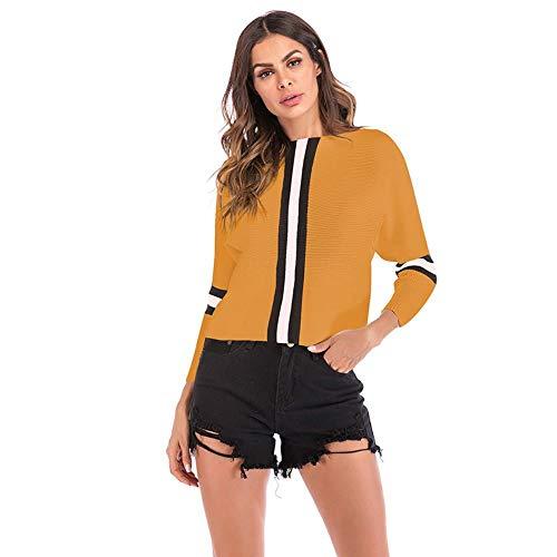 QXPORV dames pullover lange mouwen sweatshirt pullover pullover pullover pullover pullover mouwen vleermuis t-shirt colorblock dames