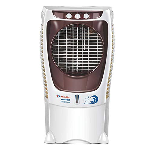 Bajaj DC2015 43-litres Desert Room Air Cooler (White) - for Large Room