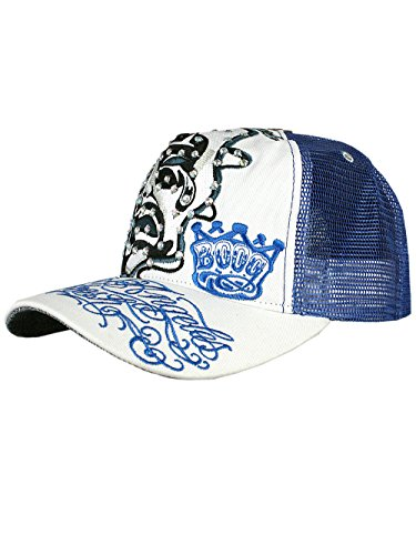 L.A. Fresh® Unisex Designer Trucker Strass Chapeau Cap - Smiles and Cries -