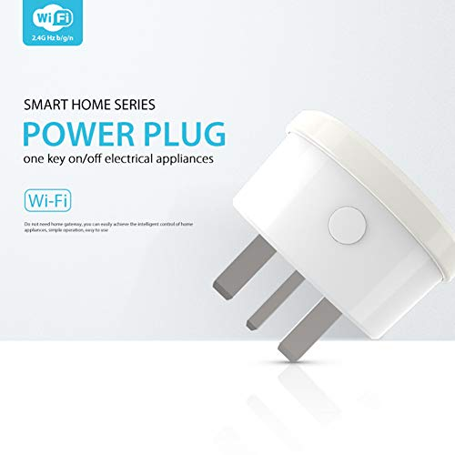 Rabusion New for NEO NAS-WR03W WiFi NL Smart Plug Socket Electric Device Control Plug British Regulation