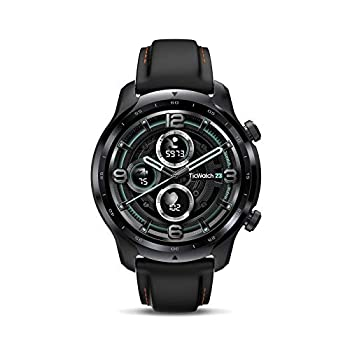 Ticwatch Pro 3 GPS Smart Watch Men s Wear OS Watch Qualcomm Snapdragon Wear 4100 Platform Health Fitness Monitoring 3-45 Days Battery Life Built-in GPS NFC Heart Rate Sleep Tracking IP68 Waterproof