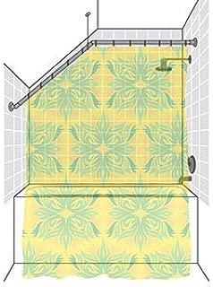 Shower Rods Sloped Ceiling