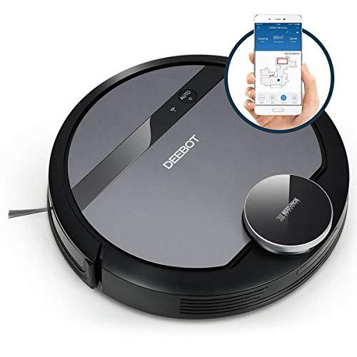 Ecovacs Deebot 901 Smart Robotic Vacuum for Carpet,...
