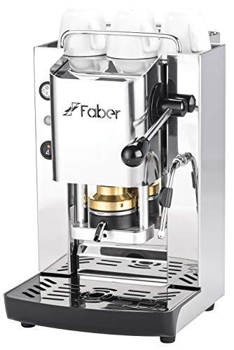 MACCHINA CAFFE A CIALDE IN CARTA ESE 44MM FABER SLOT INOX (TOTAL INOX CAPPUCCINATORE)