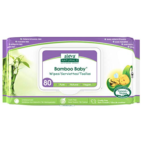 Product Image of the Aleva Naturals Bamboo Baby Wipes, Perfect for Sensitive Skin, Extra Strong and...