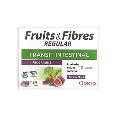 Ortis Fruits & Fibres 24 Squares to Chew by Ortis