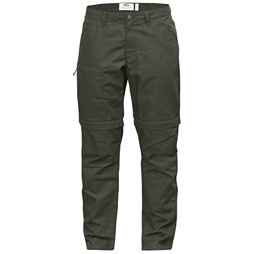 FJÄLLRÄVEN Damen High Coast Trousers Zip-Off W Lange Hose, Mountain Grey, 42